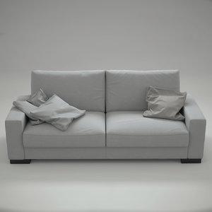 3d model of sofa nimo barcelona design
