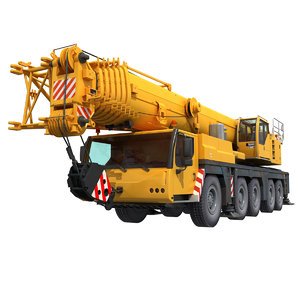 3d mobile crane liebherr