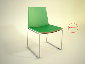 3d fernando jaeger designer chair