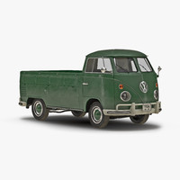 3d volkswagen type 2 single