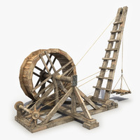 Wooden Crane 2