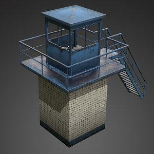 tower misc 3d obj