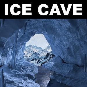 ice cave 3d max
