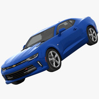 chevrolet camaro rs muscle 3d max