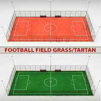 football soccer stadium field 3d 3ds
