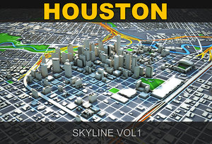 houston skyline max