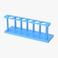test tube rack 02 3d c4d