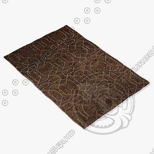 amara rug smart ng-choc 3d model