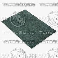 3d model amara rug smart ng-ltblue