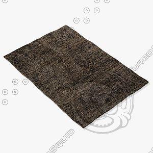 amara rug smart s-choc 3d model