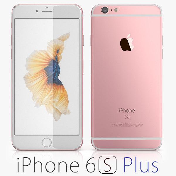 apple iphone 6s 3d max