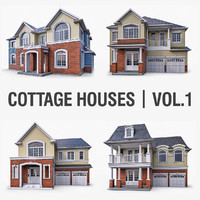 Cottage Houses Vol 1 - 4 Pack