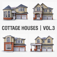 Cottage Houses Vol 3 - 4 Pack