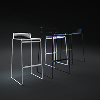 3d model hay-hee-bar-stool