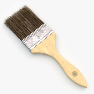 3d model of paint brush v2
