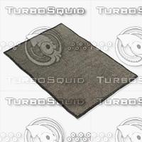 3d model of amara rug smart thcg