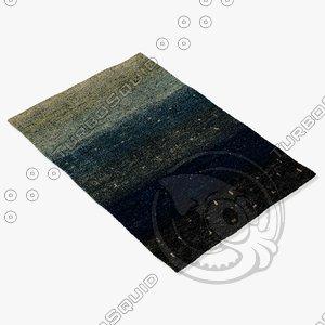 3d model amara rug smart twilight