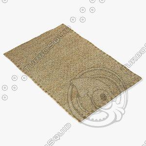 amara rug smart twilight 3d model