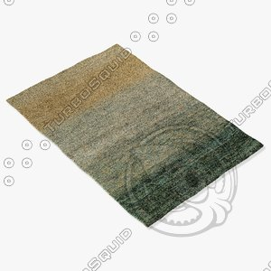 3d model amara rug smart