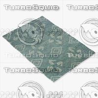 3d model of amara rug smart wz