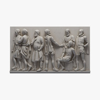 bas relief df1 3ds