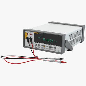 3d model fluke 8808a digital