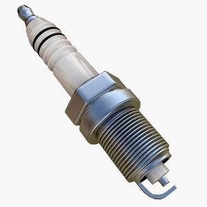 spark plug 3d model