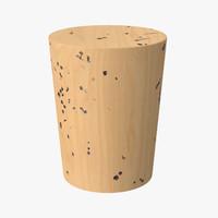 cork 03 3d model