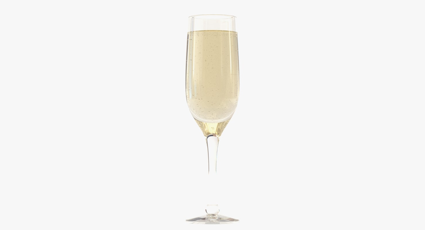 glass champagne max