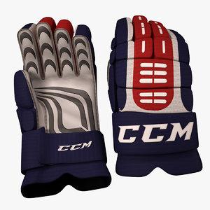 3d ice hockey glove model