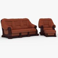max sofa armchair basso kler