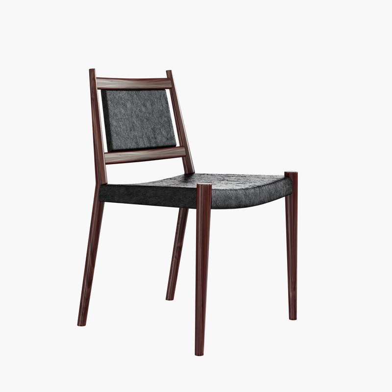 steffan larsen dining chair 3d max