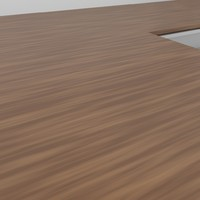 wood table 1 3d 3ds