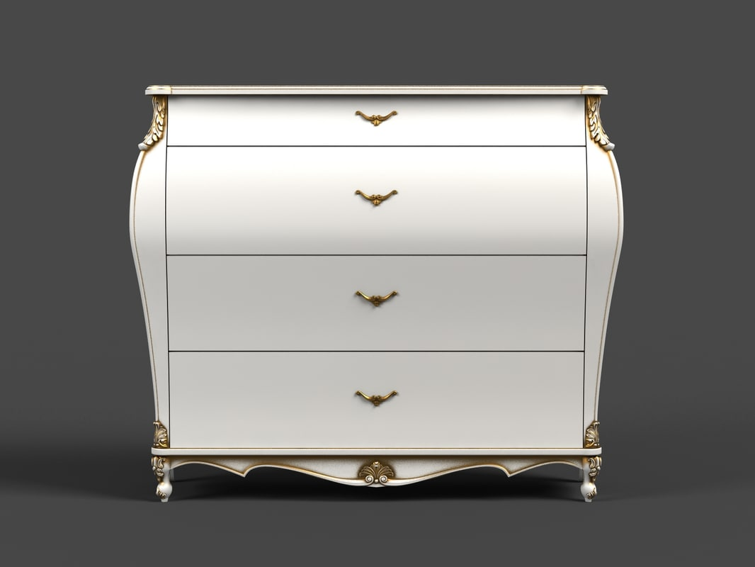 3d max chest drawers