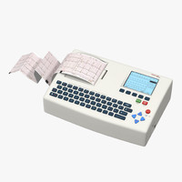 electrocardiograph machine max