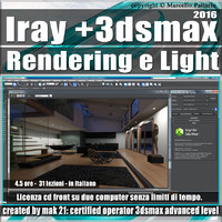 Iray + in 3dsmax 2016 Rendering e Light Vol 1.0 Cd Front