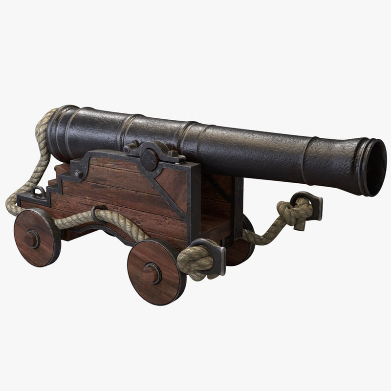 3ds naval cannon