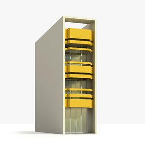 3d model balcony shophouse