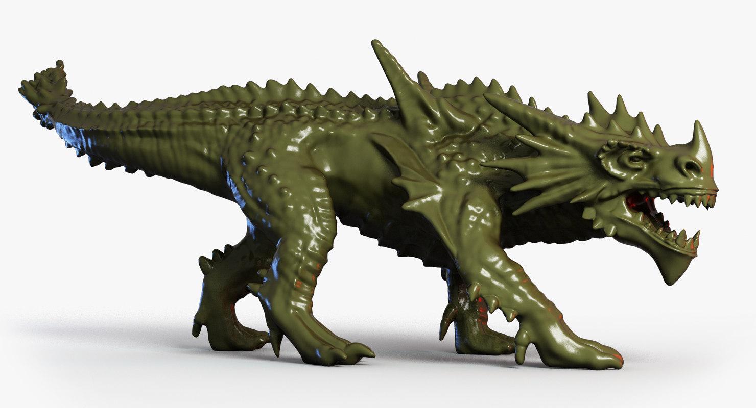 dragon hunter 3d max