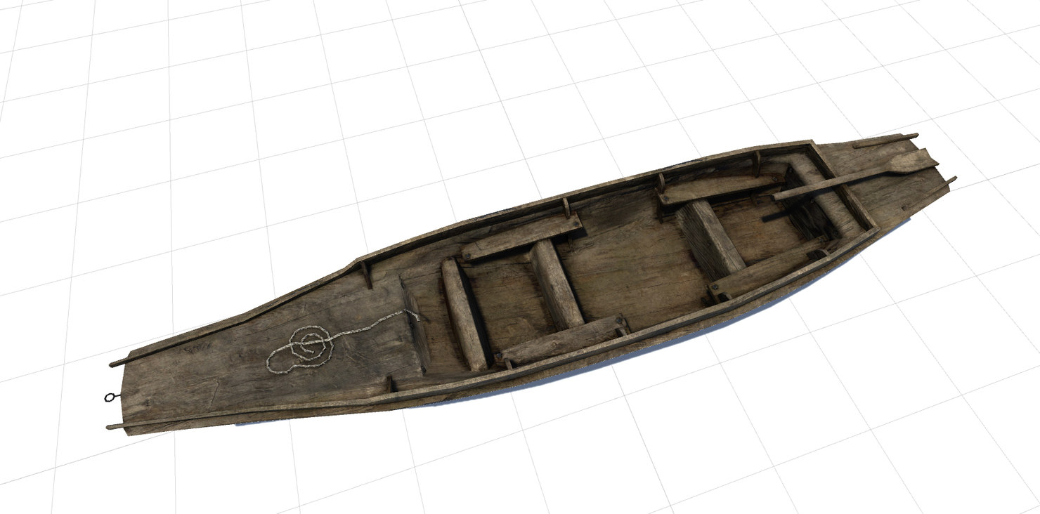 3d fisher boat