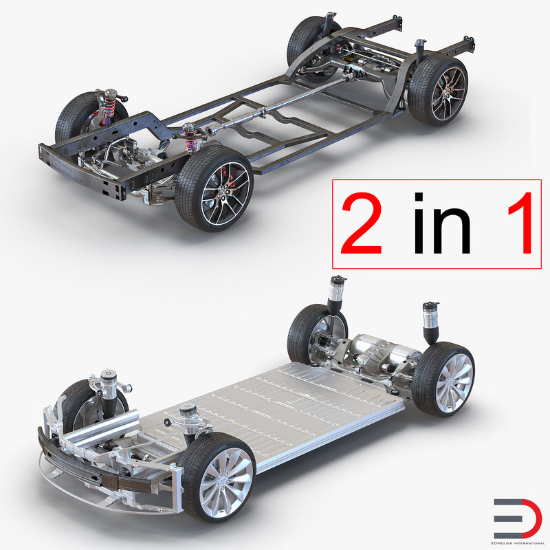 chassis s 3d obj