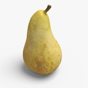 3d model pear ready unreal