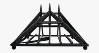 roofline restoration hardware 19th 3d model