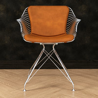Wire dinning chair
