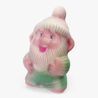 Figurine Toy Gnome Dwarf Leprechaun