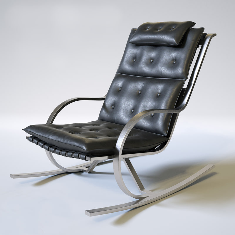 3d model of stellar works gongolo chair