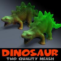dinosaur mesh 3ds