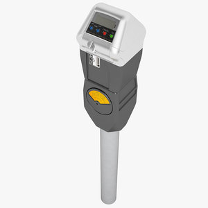 la parking meter 3d model
