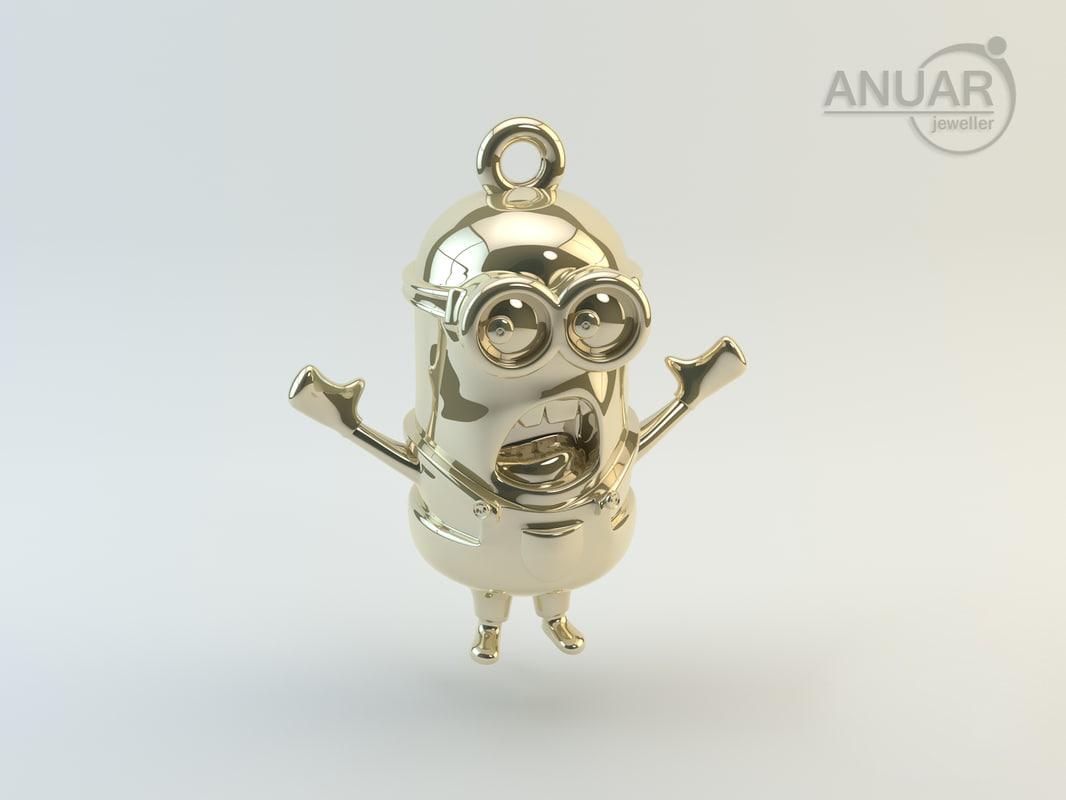 minion designer 3d model