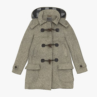 3d winter coat 02 model